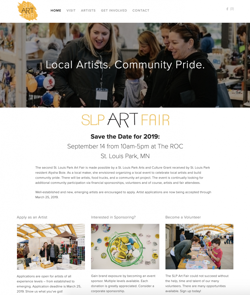SLP Art Fair